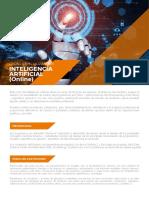 Hoja Informativa - Curso Especializado de Inteligencia Artificial (Online)