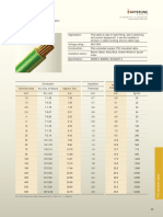 CU, PVC Specification