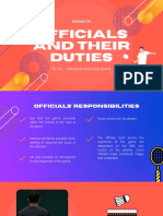 Badminton Officials and their Duties
