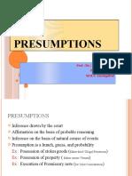 2) Presumptions.pptx