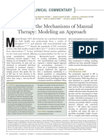 Bialosky et al. (2018)- Unraveling the mechanisms of manual therapy. Moedeling an approach