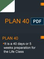 PLAN 40