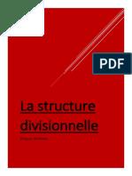 La structure divisionnelle Word