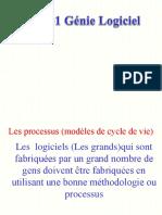 Chapitre 1 Les étapes du cycle de vie d'un logiciel