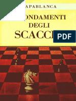 Capablanca, I Fondamenti degli scacchi