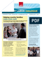 Country Labor Dialogue - February 2011