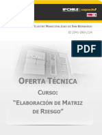Oferta Tecnica Matriz de Riesgo-IM San Bernardo