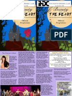 Beauty and The Beast - Programme 2019 - ONLINEview
