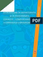 Viorel Lupu - Introducere În Hipnoterapia Și În Psihoterapia Cognitiv-comportamentală a Copilului Și a Adolescentului