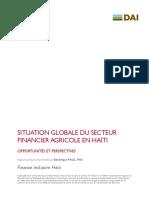 Situation Globale Du Secteur Financier Agricole en Haiti.pdf