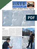 The Oredigger Issue 16 - February 14, 2011