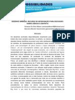 DESENHO ANIMADO recurso de intervenção