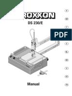 gebruiksaanwijzing-816320-proxxon-micromot-ds-230e-tafeldecoupeerzaag-85-w-zaagblad-lengte-130-mm