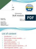 bulk module