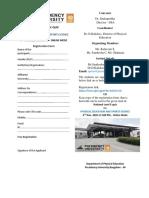 Brochure National level E-Quiz 2020