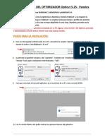NOTA INSTALACION Opticut-Paneles 5.25
