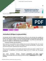 Aviculture Afrique_ La poussinière _ Senagriculture