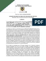 4. 12 JUNIO - SENTENCIA ESCRITA-FIJACION ALIMENTOS  NINA- YA CONCILIARON CUSTODIA-VISITAS-PAT.POTESTAD-EMPRESARIO-DISE