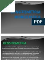 DENSITOMETRIA HIDROSTATICA