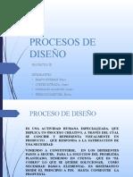 PROCESOS DE DISEÑO