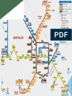 lignes tram montpellier