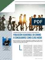Clase media y pob vulnerable  Informe economico Peru 16