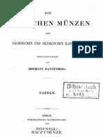 Die deutschen Münzen der sächsischen und fränkischen Kaiserzeit. Bd. I. Tafeln / hrsg. von Hermann Dannenberg