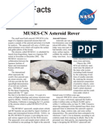 NASA Facts MUSES-CN Asteroid Rover