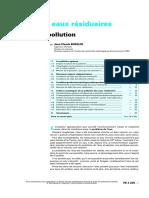 p4200Analyse des eaux résiduaires - Mesure de la pollution