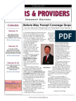 Payers & Providers Midwest Edition – Issue of February 15, 2011
