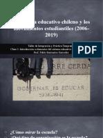 Introducción - Educación y movimientos estudiantiles recientes