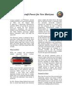 Spacecraft Power for New Horizons Fact Sheet