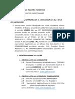 SUPERINTENDENCIA DE INDUSTRIA Y COMERCIO DDA DON GERMAN