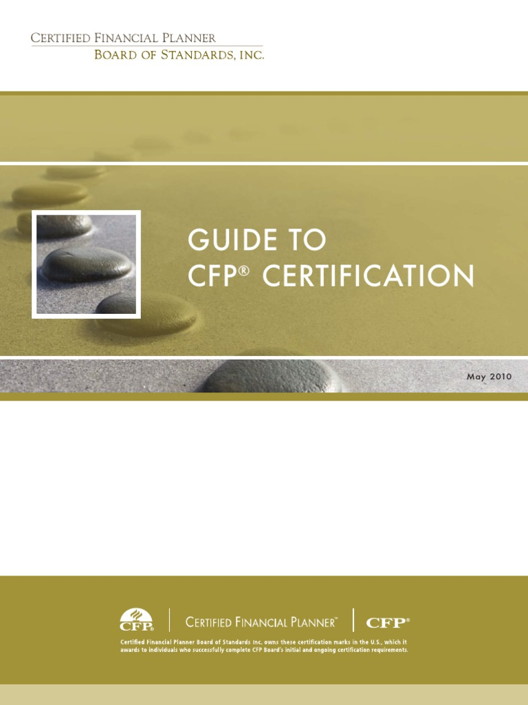 Cfp Professional Certification Certified Public Accountant