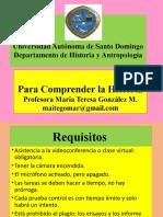 1. Presentación y evaluacion
