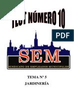 TEST JARDINERIA Nº10