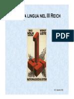 La lingua nel III Reich