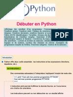 Debuter en Python
