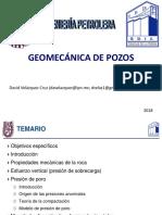 GEOMECANICA DE POZOS