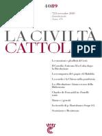 LaCiviltCattolica7Novembre2020