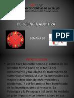 Semana 11 Deficiencia Auditiva