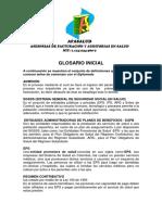 001.1 GLOSARIO INICIAL