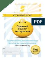 01 French Citrus Saturday Workbook