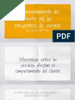 CLASE 3_COMPORTAMIENTO DEL CLIENTE EN LOS ENCUENTROS DE SERVICIOS (1)