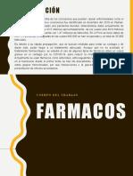 FARMACO EXPOSICION