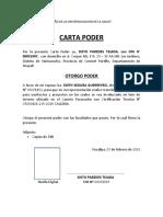 CARTA PODER APODERADOS