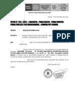 INFORME  DADO ALTA S2 PNP DARWINVILLEGAS ACARO.