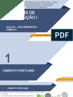 AULA 04 - MATERIAIS DE CONSTRUÇÃO I - CIMENTO.pdf