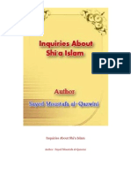 Inquiries About Shi'a Islam Author