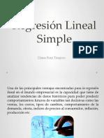 Regresión Lineal simple y múltiple